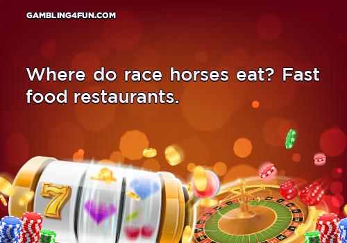 race horses eat