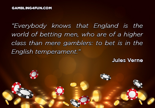 England is the world of betting men