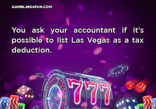 gambling jokes - tax