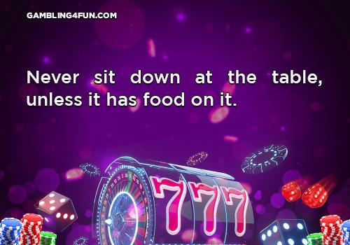 gambling jokes - table