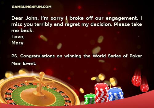 poker jokes -WSOP