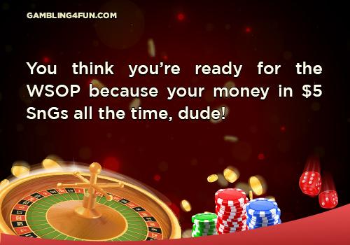 poker jokes - world series of poker