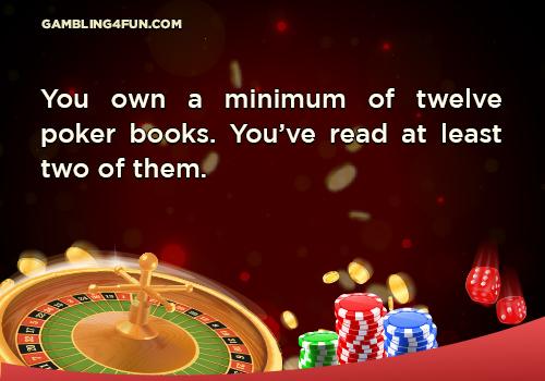 poker books jokes