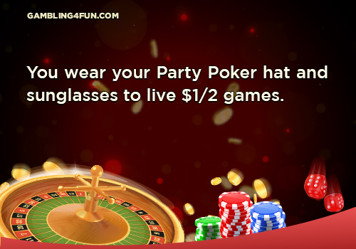 party poker jokes