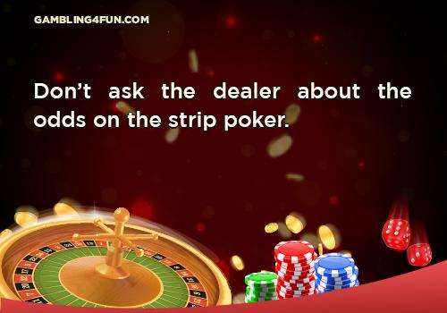 poker don'ts jokes