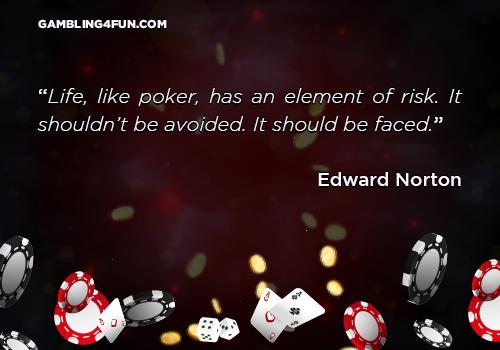 Life, like poker